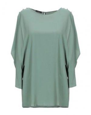 Блузка ANNARITA N. Цвет: зеленый