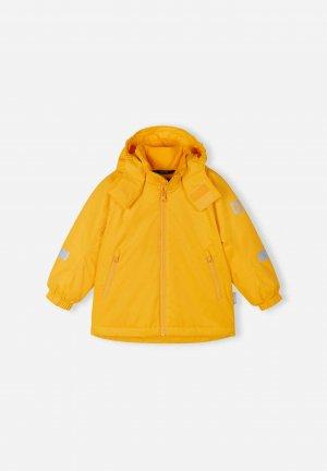 Куртка tec Reili Желтая Reima. Цвет: желтый