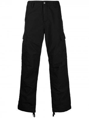 Прямые брюки карго Carhartt WIP. Цвет: черный