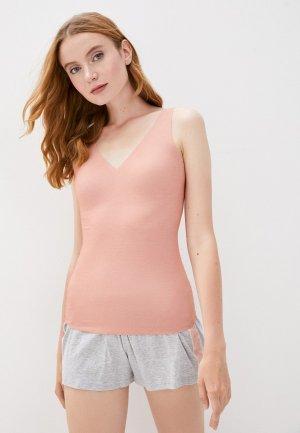 Майка домашняя Sloggi ZERO Feel Natural Shirt 02. Цвет: розовый