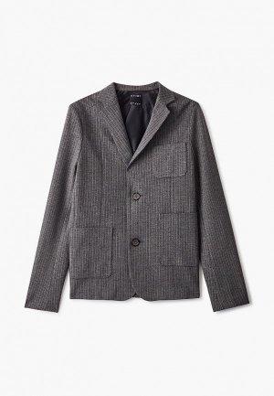 Пиджак Ptuch. Цвет: серый