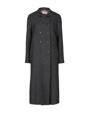 Пальто MAURO GRIFONI. Цвет: свинцово-серый