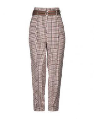 Повседневные брюки ALYSI. Цвет: ржаво-коричневый