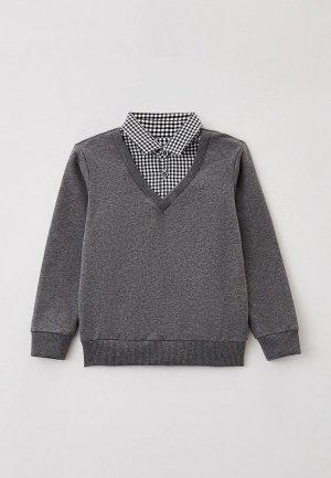 Пуловер Mark Formelle. Цвет: серый
