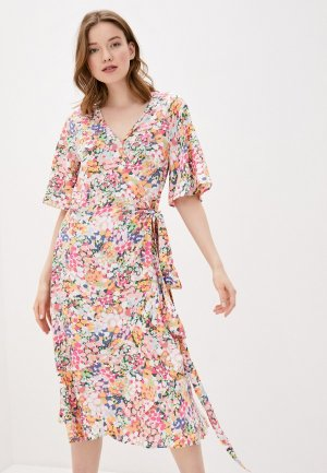 Платье Baon. Цвет: разноцветный
