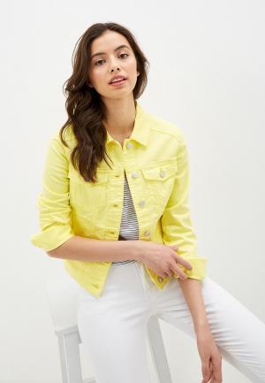 Куртка джинсовая Q/S designed by. Цвет: желтый