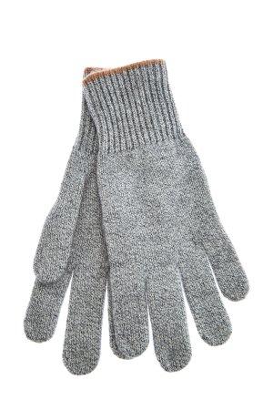 Перчатки из кашемировой пряжи в два сложения нити BRUNELLO CUCINELLI. Цвет: серый