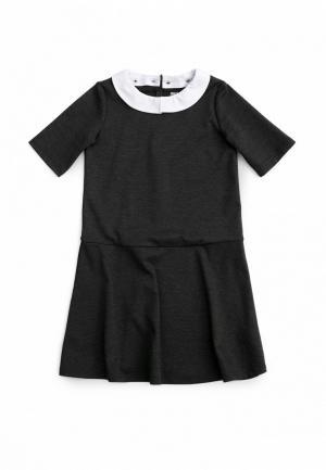 Платье SCool S'Cool. Цвет: серый