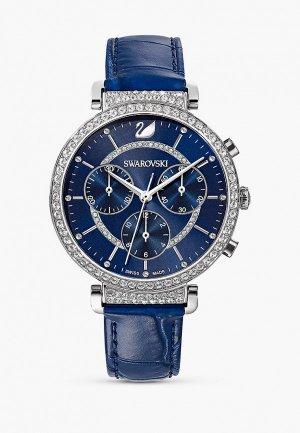 Часы Swarovski® Passage Chrono. Цвет: синий