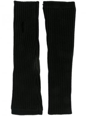 Перчатки Kenzo. Цвет: чёрный