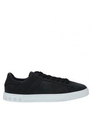 Кеды и кроссовки TOD'S. Цвет: черный
