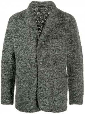 Легкое однобортное пальто Engineered Garments. Цвет: серый