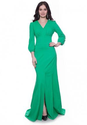 Платье Grey Cat VIKY. Цвет: зеленый