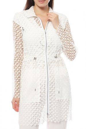 Пальто Elie Tahari. Цвет: белый ntique