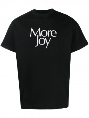 Футболка More Joy Christopher Kane. Цвет: черный