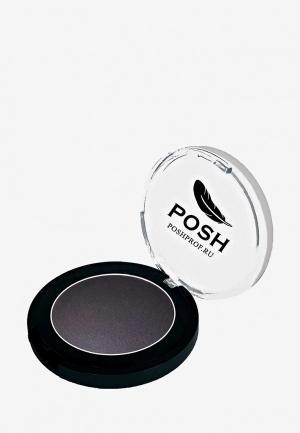 Тени для век Posh Мелкодисперсные высокопигментированные Влагостойкие. Цвет: черный