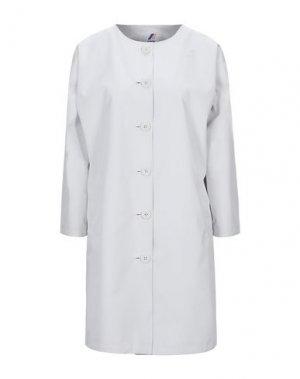 Легкое пальто K-WAY. Цвет: светло-серый