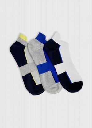 Короткие фитнес-носки O`Stin. Цвет: темно-синий