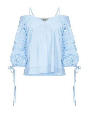 Блузка KAOS JEANS. Цвет: небесно-голубой