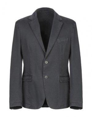 Пиджак POUL RICHARD. Цвет: свинцово-серый