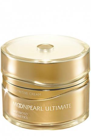 Питательный ночнойКрем для лица Moonpearl Ultimate Nutritive Cream Mikimoto Cosmetics. Цвет: бесцветный