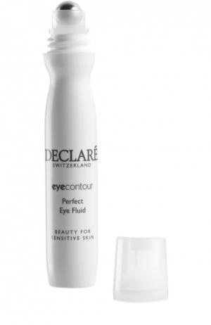 Восстанавливающий гель для кожи вокруг глаз с массажным эффектом Perfect Eye Fluid Declare. Цвет: бесцветный