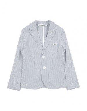 Пиджак BIKKEMBERGS. Цвет: синий
