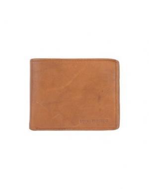 Бумажник ROYAL REPUBLIQ. Цвет: верблюжий