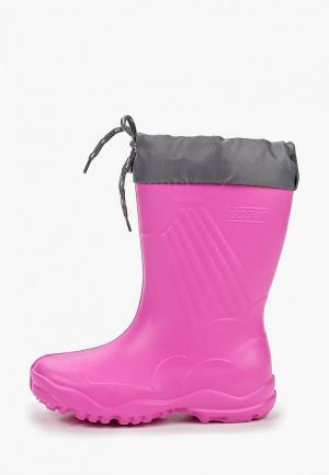 Резиновые сапоги Modis M191A00027Pink. Цвет: розовый