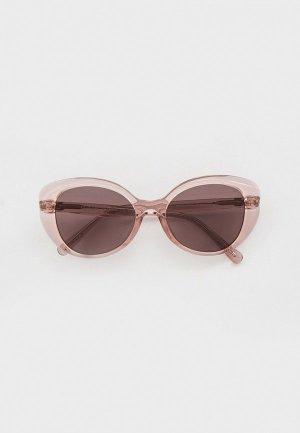 Очки солнцезащитные Coach HC8306U 55757N. Цвет: розовый