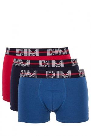 Комплект трусов Dim. Цвет: красный, синий