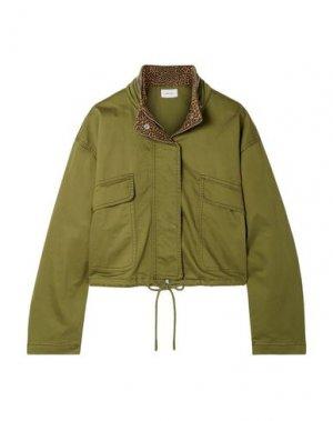 Куртка CURRENT/ELLIOTT. Цвет: зеленый-милитари