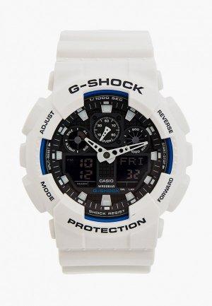 Часы Casio G-SHOCK GA-100B-7A. Цвет: белый