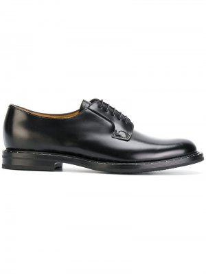 Churchs туфли дерби Shannon с заклепками Church's. Цвет: черный