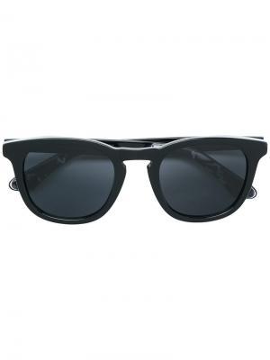 Солнцезащитные очки Ben 50 Jimmy Choo Eyewear. Цвет: синий