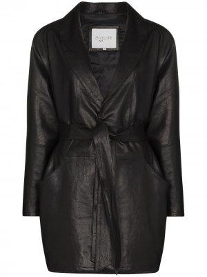 Куртка Kelly с поясом Envelope1976. Цвет: черный