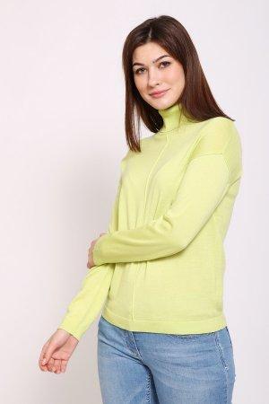 Пуловер Pezzo. Цвет: зелёный