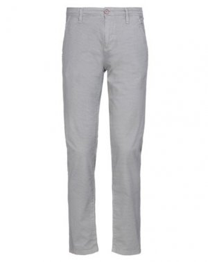 Повседневные брюки GAUDÌ. Цвет: серый