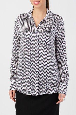 Блузка TUZUN. Цвет: черный, серый