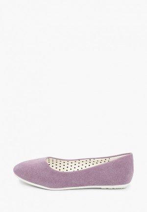 Балетки Zenden First. Цвет: фиолетовый