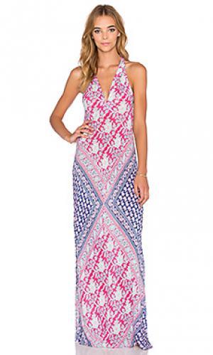 Платье-майка new moon Raga. Цвет: розовый