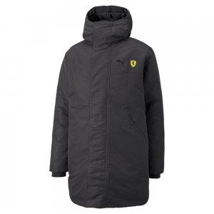 Куртка Scuderia Ferrari Race Padded Mens Jacket PUMA. Цвет: черный