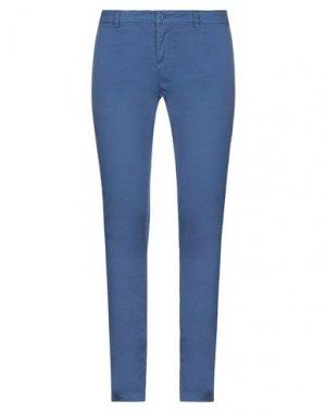 Повседневные брюки UP ★ JEANS. Цвет: синий