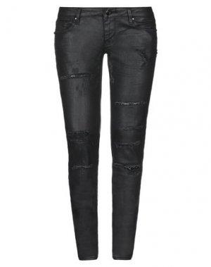 Джинсовые брюки BLUEFEEL by FRACOMINA. Цвет: черный