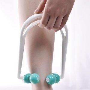 Массажный ролик для расслабления мышц SHEIN. Цвет: синий