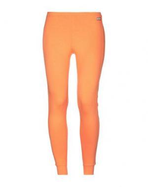 Брюки-капри VDP CLUB. Цвет: оранжевый