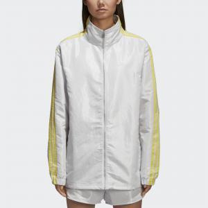 Ветровка FSH L WB Originals adidas. Цвет: белый