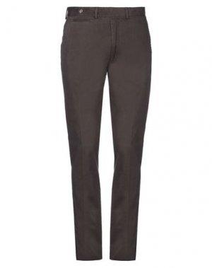 Повседневные брюки GANT. Цвет: темно-коричневый