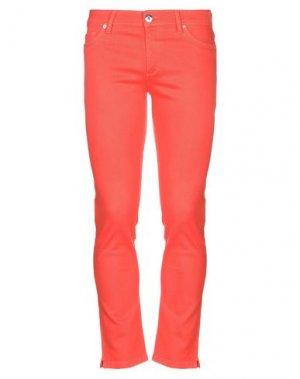 Джинсовые брюки DL1961. Цвет: оранжевый