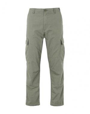 Повседневные брюки DEDICATED.. Цвет: зеленый-милитари